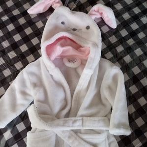 Modern Baby Bunny Robe